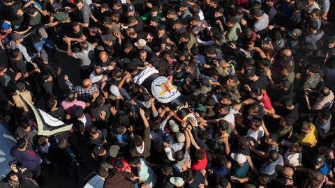 Emotions run high at funeral of Abu el-Atta