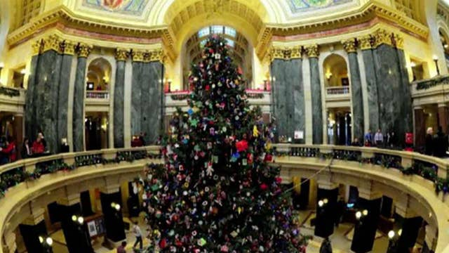Scott Walker outraged over new Wisconsin governor's 'holiday tree' designation