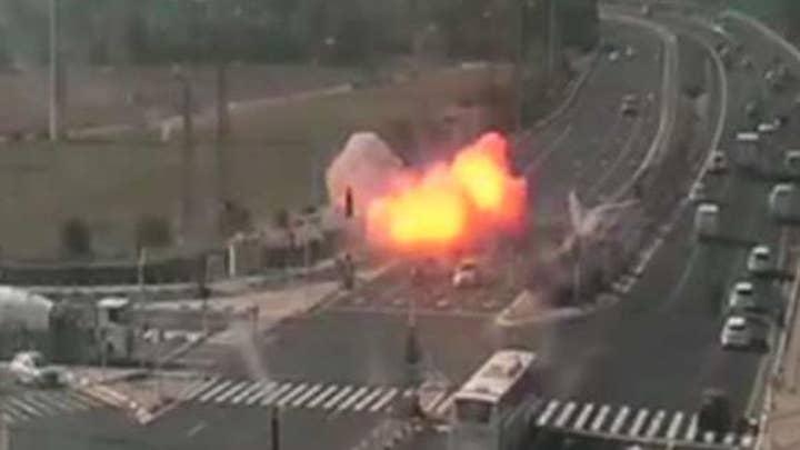 Rage on the streets of Gaza City after Israel conducts preemptive strike on jihadi commander