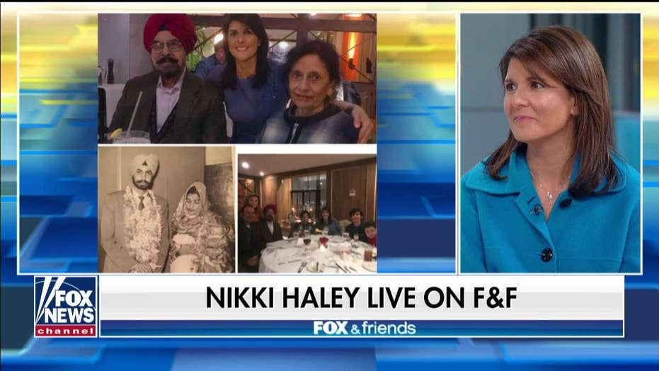 Nikki Haley discusses her childhood, how it shaped her career