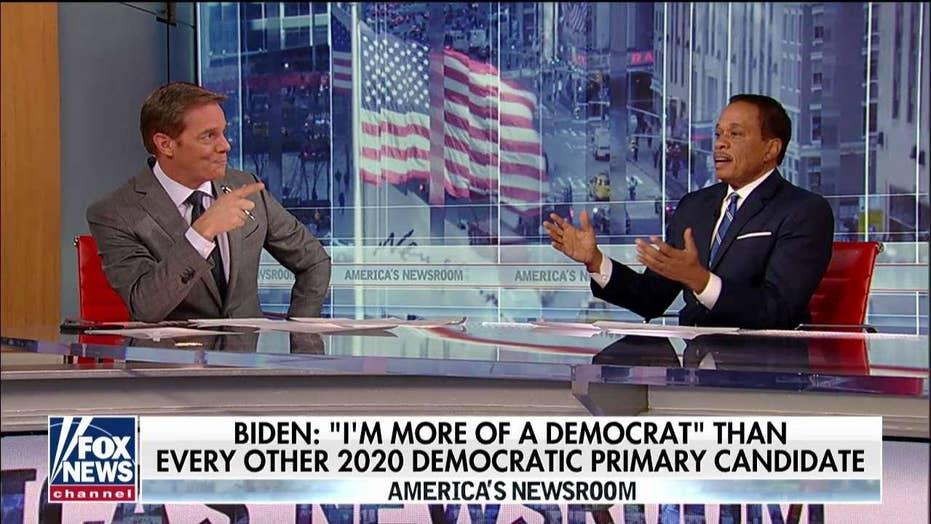 Juan Williams on Biden's 2020 standing