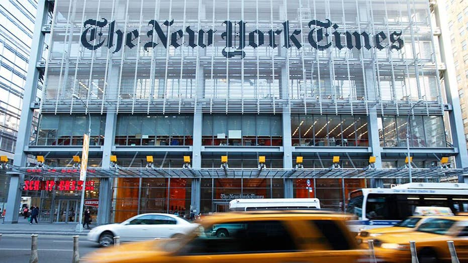 New York Times faces backlash over 'sexist' poll question about female candidates