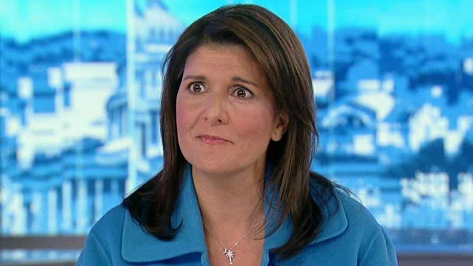 Nikki Haley discusses future political aspirations, urges 'Anonymous' author to come forward