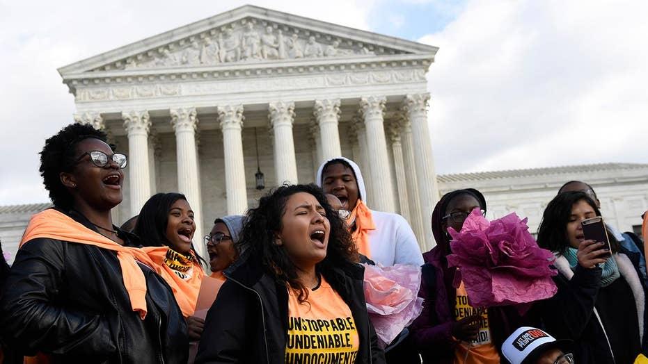 DACA recipients have their case heard at Supreme Court