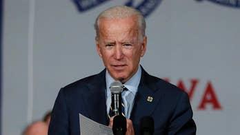 Joe Biden stumbles over Warren's elitism during CNN town hall