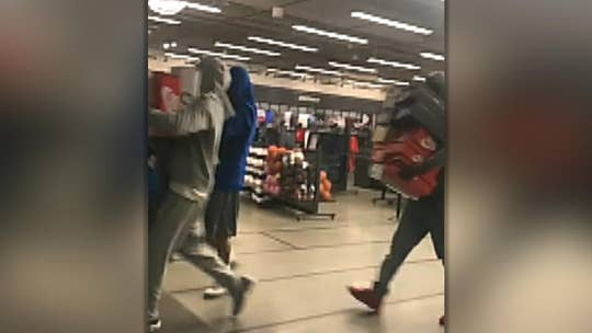 California Nike store robbed by thieves who walked out with armfuls of merchandise