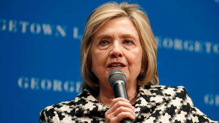 Hillary Clinton says she's under 'enormous pressure' to enter 2020 race