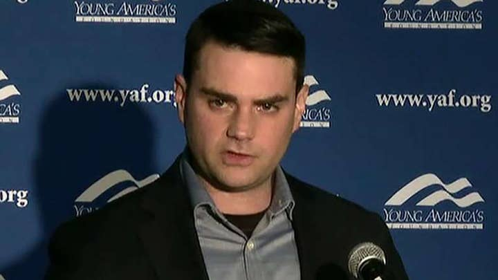 Ben Shapiro fires back at Boston University student group 'triggered' by upcoming speech