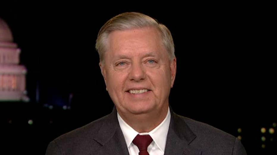 Lindsey Graham looks ahead to the start of impeachment proceedings