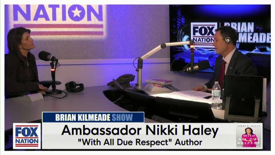 Ambassador Nikki Haley on The Brian Kilmeade Show 11-13-19