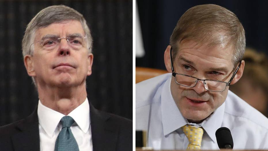 Rep. Jim Jordan questions Amb. William Taylor during impeachment hearing