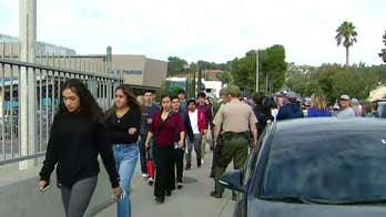 Multiple injuries in California high school shooting, suspect reportedly 'no longer a threat'