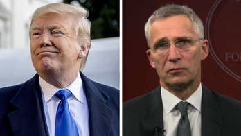President Trump meets with NATO secretary general