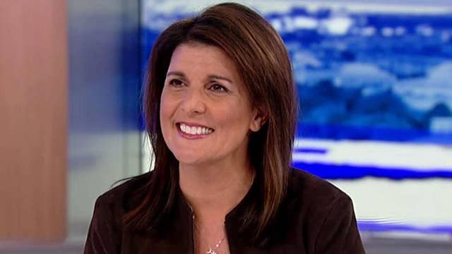 Haley on impeachment inquiry: Let the American people decide during 2020 election