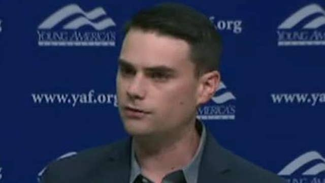 Ben Shapiro speaks at Boston University despite protests over speech title