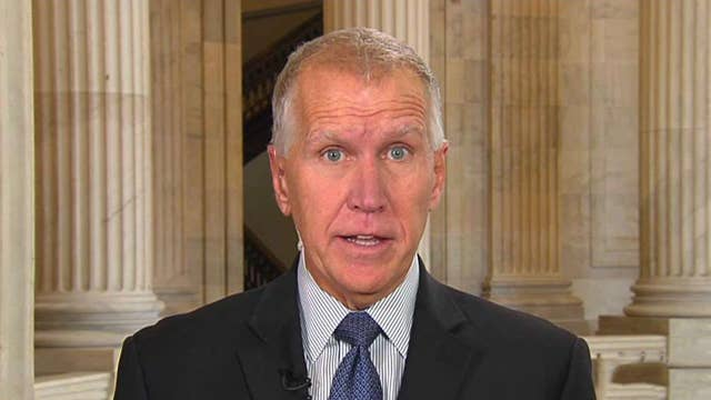 Sen. Thom Tillis says impeachment inquiry is another chapter in Democrats' effort to reverse the 2016 election