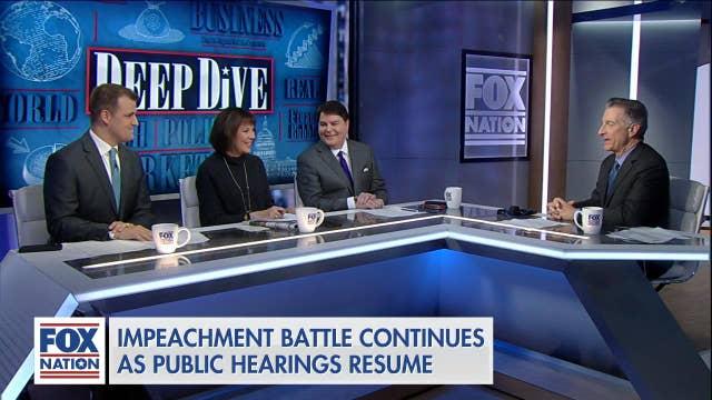 Panel on impact of 'boring' impeachment hearings