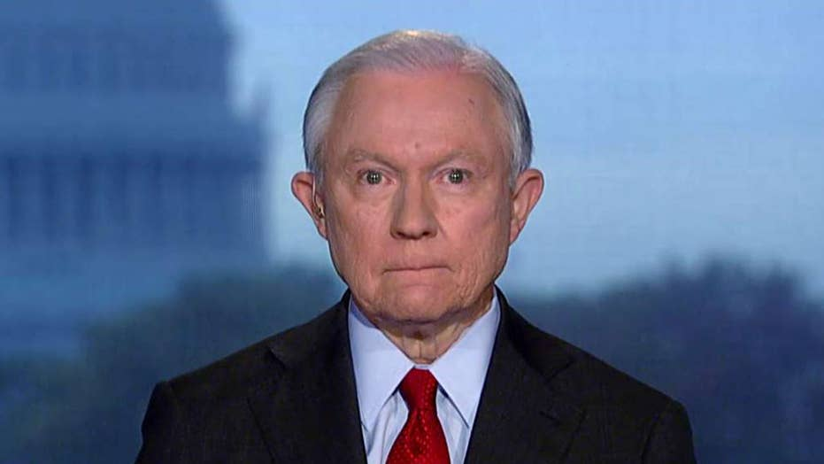 Jeff Sessions urges Democrats to 'consider the Constitution'
