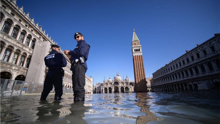 Venice flooding closes St. Mark's Square as city faces another 'tough day' of exceptional high tides