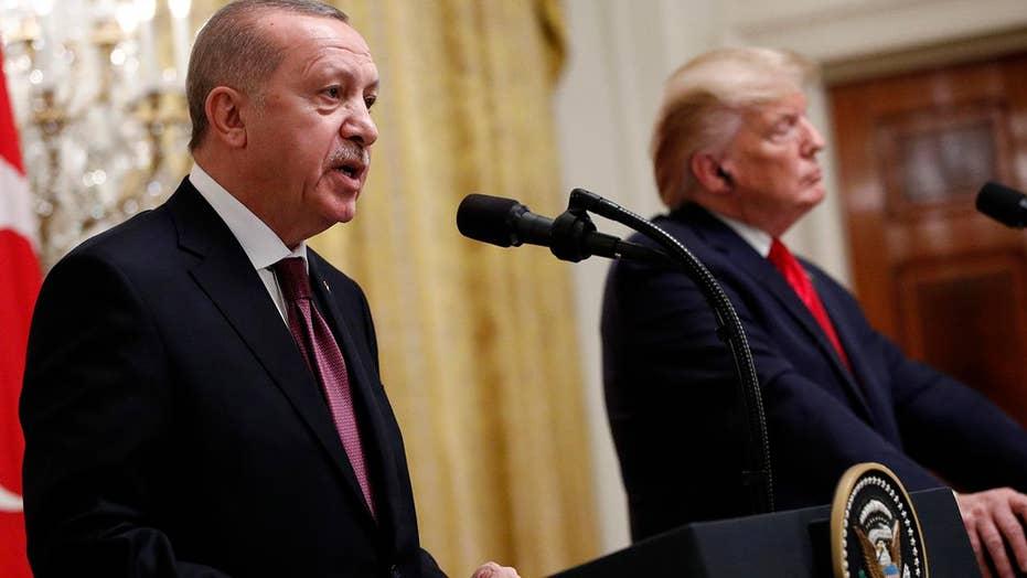 Trump, GOP lawmakers meet with Turkish President Erdogan amid Mideast tensions