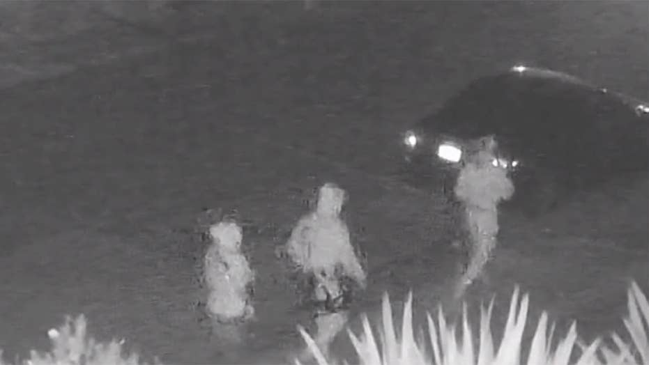 Santa Cruz murder suspects caught on tape