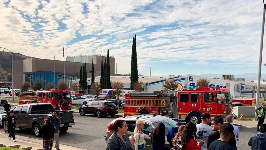 Saugus High School student describes chaos of Santa Clarita school shooting: We ran for our lives