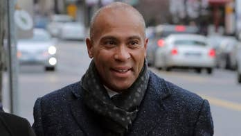 Former Massachusetts Governor Deval Patrick announces his run for the White House