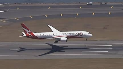 Qantas Airlines completes nearly 20-hour non-stop research flight from London to Sydney