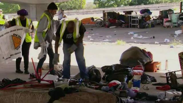 What can states like California learn from how Texas is handling the homeless?