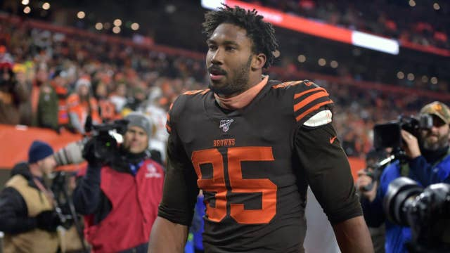 NFL comes down hard: Suspends Browns' Myles Garrett indefinitely after ugly assault on Steelers' QB