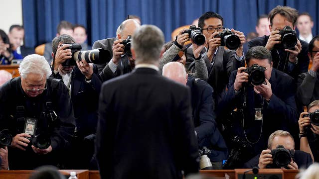 Media divided over impeachment hearings