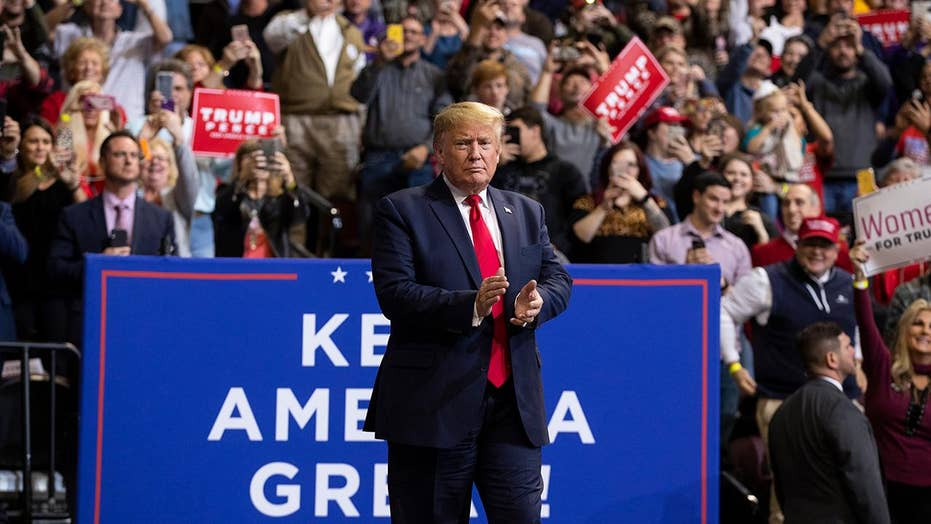 Trump holds rally in Louisiana, campaigns for Republican gubernatorial candidate