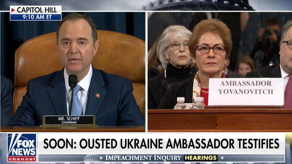 Schiff admits President Trump has right to fire an Ambassador