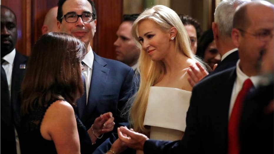 Treasury Secretary's wife has words for her husband's boss, Pres. Trump