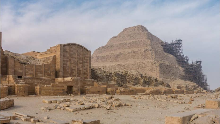 Archaeology team in Egypt find lion mummy at famed pyramid site