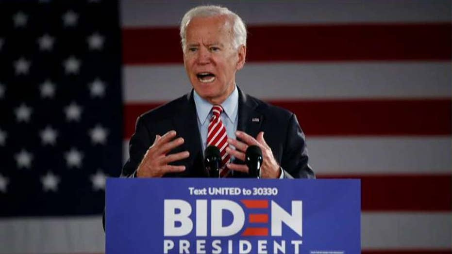 Joe Biden defends son Hunter: 'He's a great guy'