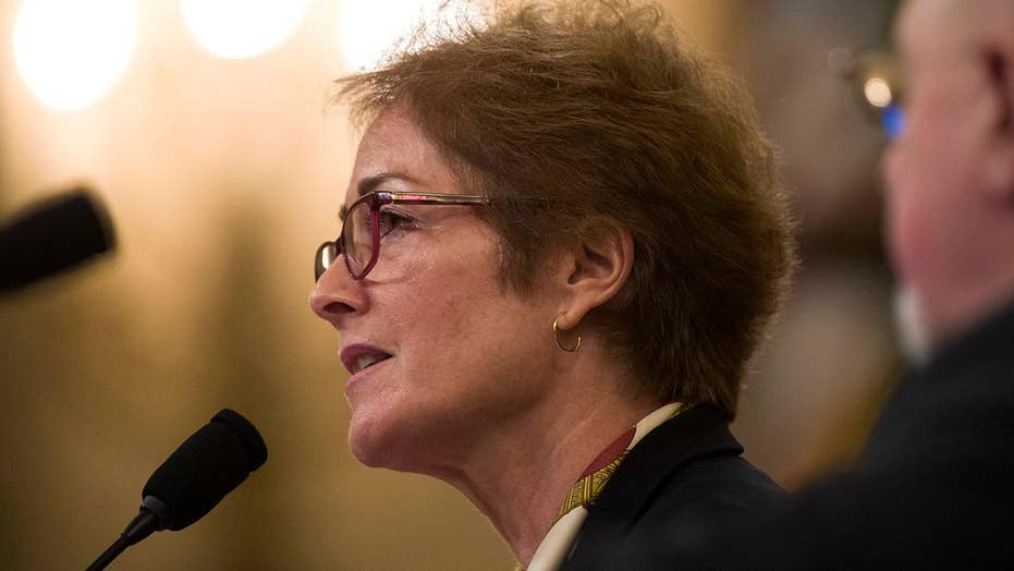 Marie Yovanovitch calls Trump tweet 'very intimidating'