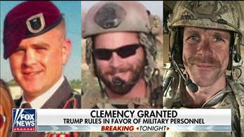Trump grants clemency to 2 Army officers accused of war crimes, restores rank to Navy SEAL Eddie Gallagher