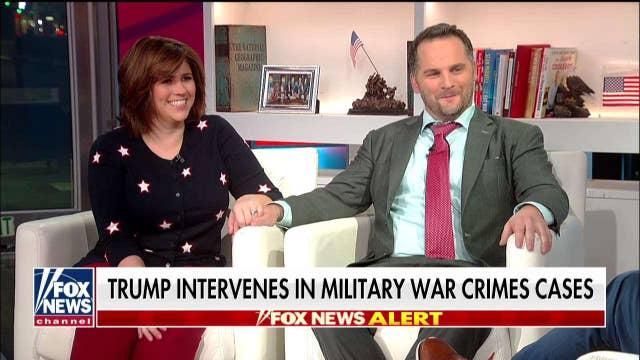 The Golsteyns react after President Trump's pardon