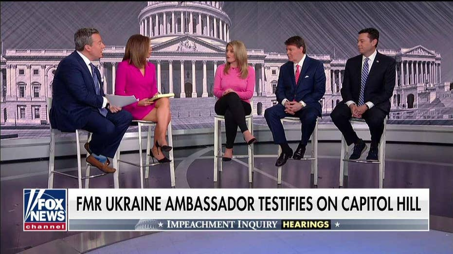 Fox News legal panel reacts after the former Ambassador to Ukraine testifies on Capitol Hill