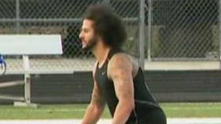 Last-minute changes lead to chaos ahead of Colin Kaepernick's work out in Atlanta