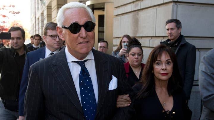 Roger Stone upstages impeachment