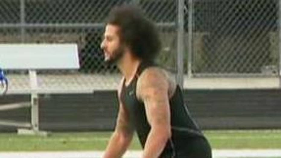 Last-minute changes lead to chaos ahead of Colin Kaepernick's workout in Atlanta