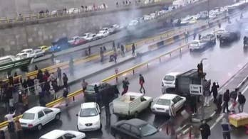 Massive protests in Iran over government's decision to raise gas prices