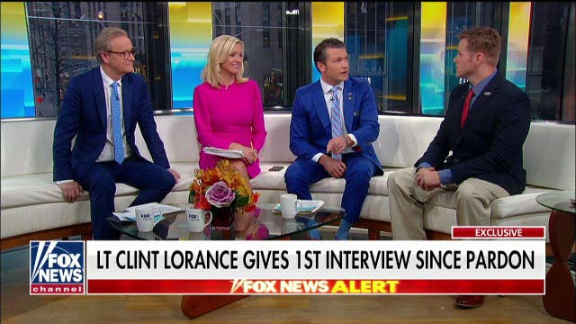 Lt. Clint Lorance responds to Joe Biden's criticism of his presidential pardon:  'Doubt he really believes that'