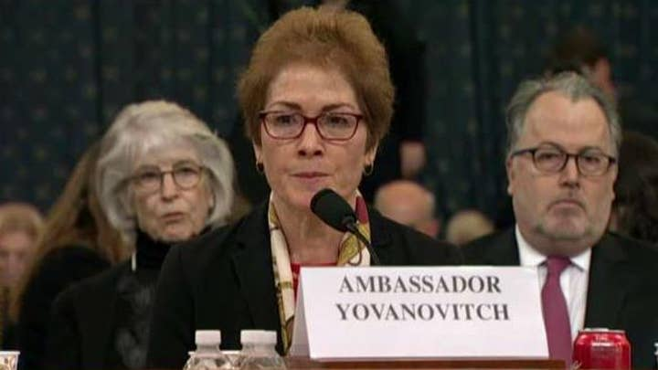Gender becomes major focus of Marie Yovanovitch hearing