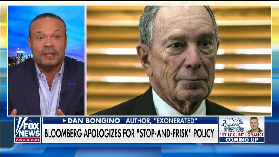 Dan Bongino slams Bloomberg: 'Stop-and-frisk' worked and he looks 'weak' with apology