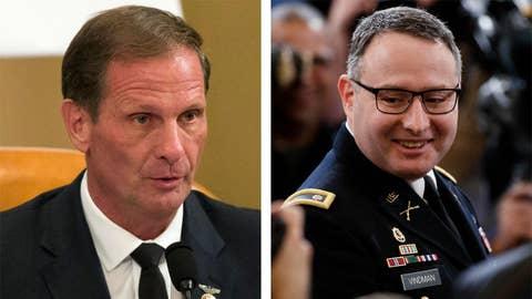 Rep. Stewart challenges Lt. Col. Vindman's interpretation of Ukraine call