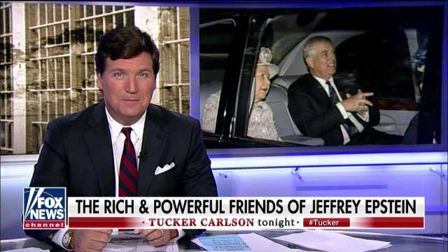 """Tucker Carlson on Prince Andrew's """"thoroughly bizarre"""" interview about Epstein"""