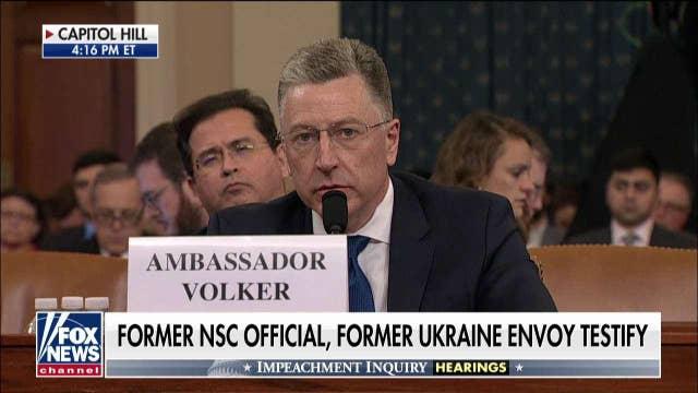 Kurt Volker: I believe allegations against Joe Biden are 'self-serving and not credible'